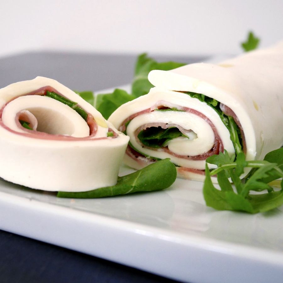 Mozzarella sheets